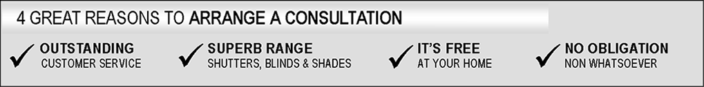 Reasons of Consultation - Blinds, Shutters, Shades, Apopka, Florida
