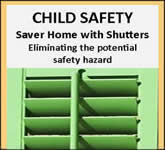 Child Safety - shutters, custom, blinds, shades, window treatments, plantation, plantation shutters, custom shutters, interior, wood shutters, diy, orlando, florida
